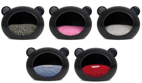 black dog bed pet boutique selling designer dog clothes and accessories glamourpetz co uk