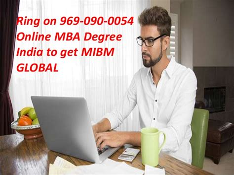 Mba In Global Management India by Contact 9690900054 Mba Degree India Mibm