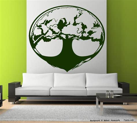 wandtattoo lebensbaum kinderzimmer wandtattoo wandaufkleber lebensbaum baum tree sunnywall