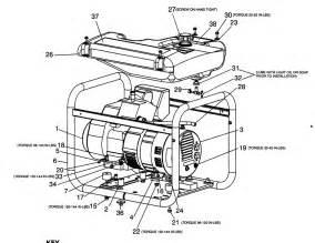 porter cable generator parts model cte300 sears partsdirect