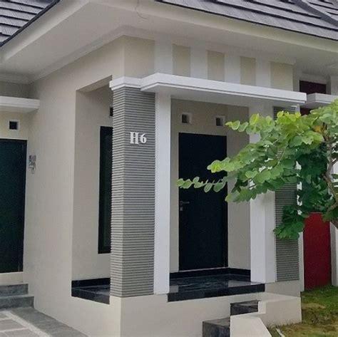 model tiang teras rumah minimalis modern  mewah