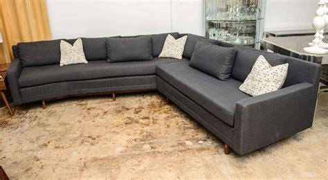 Sleek Sectional Sofas Paul Mccobb Sleek Mid Century Modern Vintage Sectional Sofa At 1stdibs