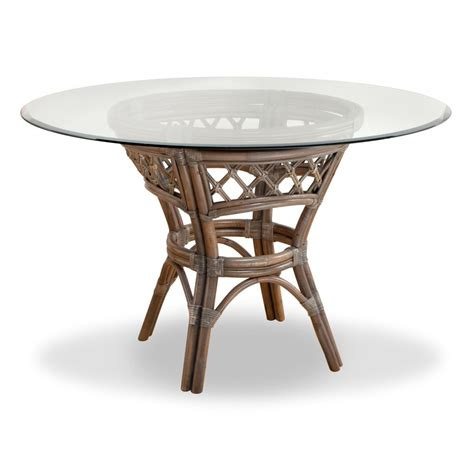 rattan kitchen furniture south sea rattan nadine dining table wayfair ca