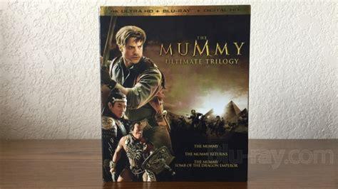 Bluray Ori Original Warrior 4k Uhd the mummy ultimate trilogy 4k the mummy the mummy returns the mummy of the