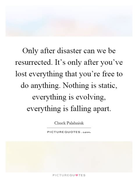 this house is falling apart lyrics only after disaster can we be resurrected it s only after