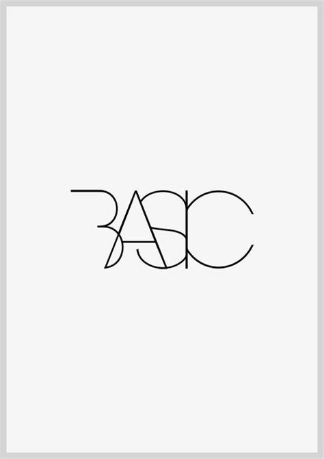 design a logo basics basic black white typography graphic design