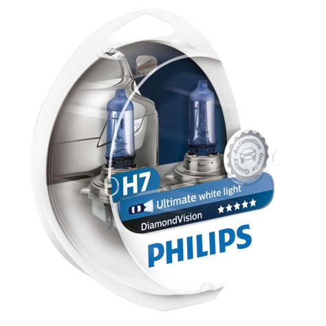 Lu Halogen Philips Blue Vision h7 philips vision upgrade headlight bulbs pair