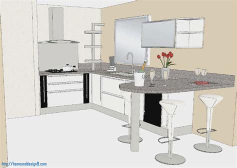 plan cuisine 3d free modlisation d with cuisine noir et