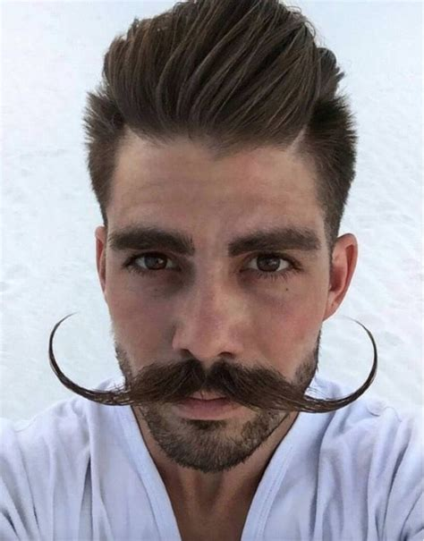 hairstyles that go with a moustache image gallery medium goatee