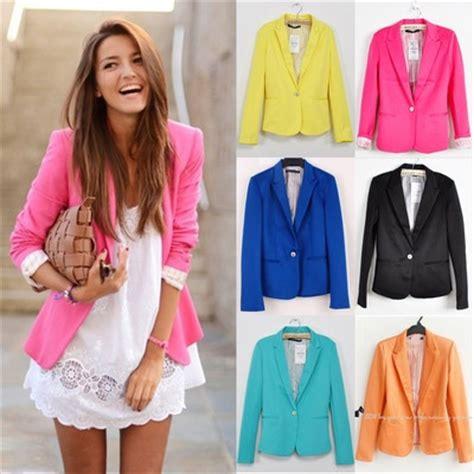 colorful blazers how to wear the colorful blazer sofashionready