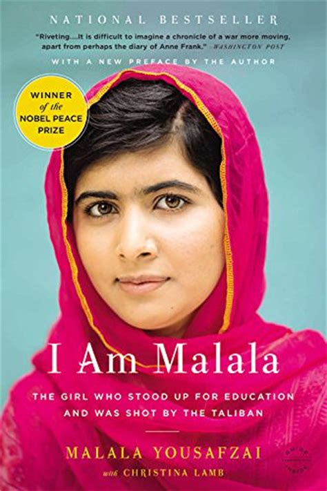 book biography woman i am malala the girl who stood up for education and was