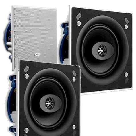 Square Ceiling Speaker Ceiling Speaker Pair Pack Kef Ci160cs Speaker Square In Wall Or Ceiling