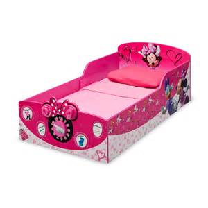 minnie maus bett delta children minnie mouse toddler bed reviews wayfair