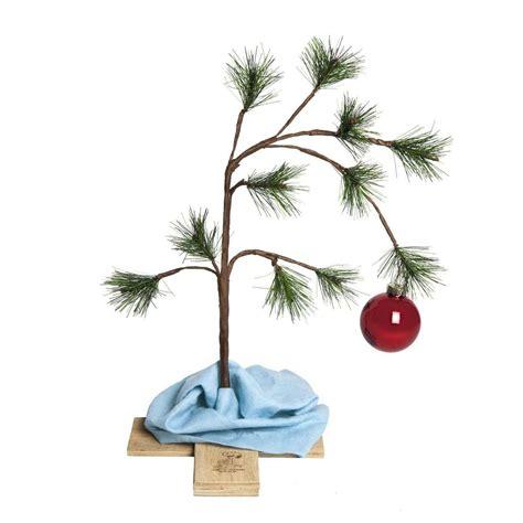 real charlie brown christmas tree brown tree dudeiwantthat
