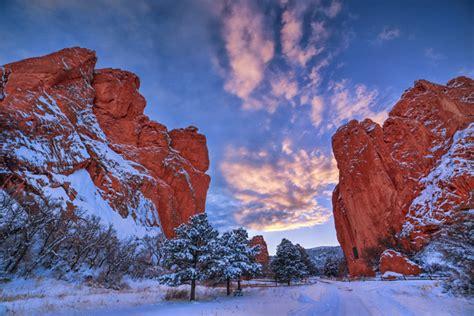 Garden Of The Gods Winter by Lars Leber Photography Colorado Springs Area Garden Of