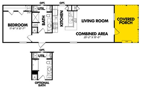 the legacy floor plan legacy singlewide home model 1660 11flpa view home