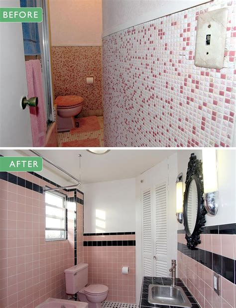 Modern Bathroom Ideas On A Budget by 40 Vintage Pink Bathroom Tile Ideas And Pictures