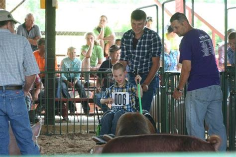 Wilson County Fair Great Giveaway - fair attendance numbers on par with last year chautauqua today