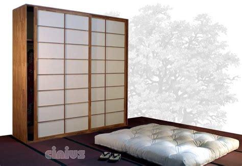 armoire japonaise cinius armoires 224 portes coulissantes japonaises shoji
