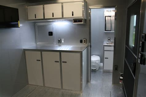 enclosed trailer with bathroom enclosed trailer bathroom 28 images 42 custom race trailer with bathroom package