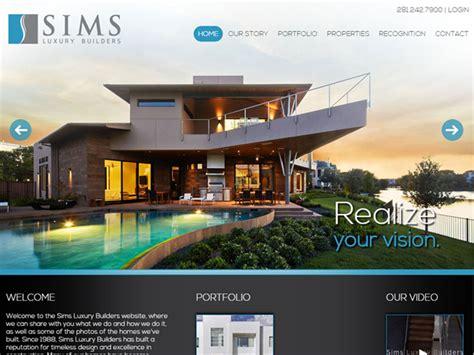 home builder website design inspiration appealing home builder website design gallery best