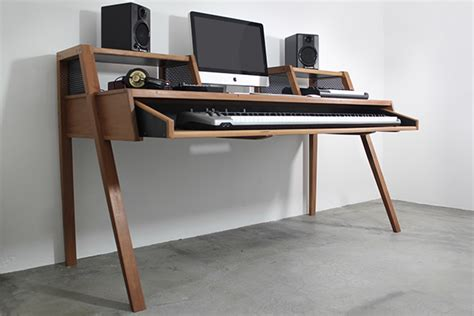 home studio desk on behance