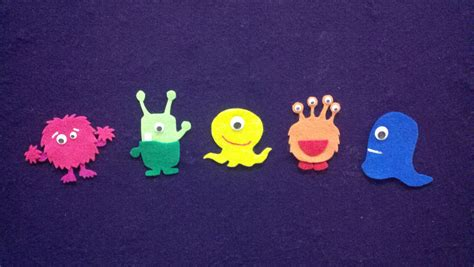 monsters jumping on the bed storytime friendly monsters