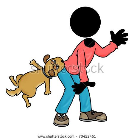 dog bite cartoon clip art stock images similar to id 81229351 vector cartoon of