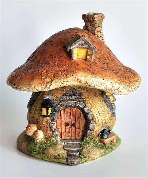 mushroom home decor another great find on zulily brown mushroom fairy house