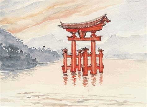 Portique De Jardin Japonais 4599 by Portique De Jardin Japonais 2 Japon Evtod