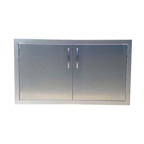 Stainless Steel Outdoor Cabinet Doors Closetmaid Selectives 30 In X 23 5 In Decorative Panel Doors 4946 The Home Depot