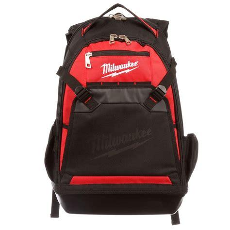 Backpacker Bag milwaukee jobsite backpack 48 22 8200 the home depot