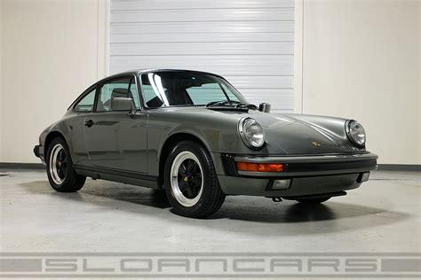 porsche 911 green 1987 porsche 911 granite green 50 361 miles sloan cars