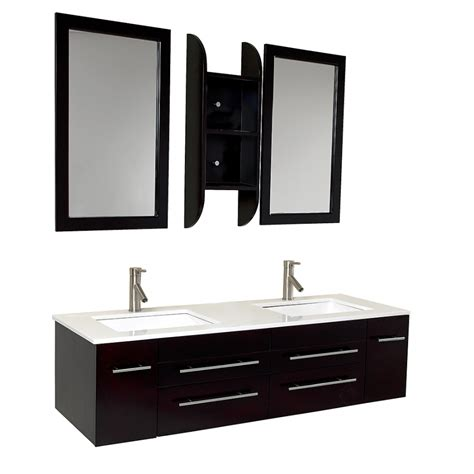 59 Bathroom Vanity Sink by 59 Inch Espresso Modern Sink Bathroom Vanity