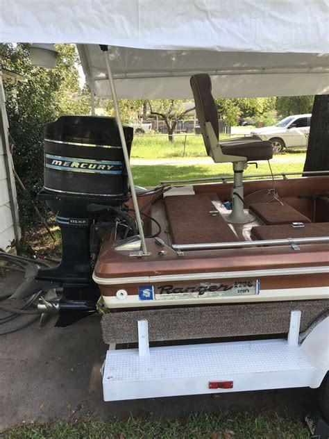 bass boats for sale houston 1976 ranger bass boat for sale in houston tx offerup