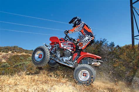 build your own honda atv honda trx400ex budget build dirt wheels magazine