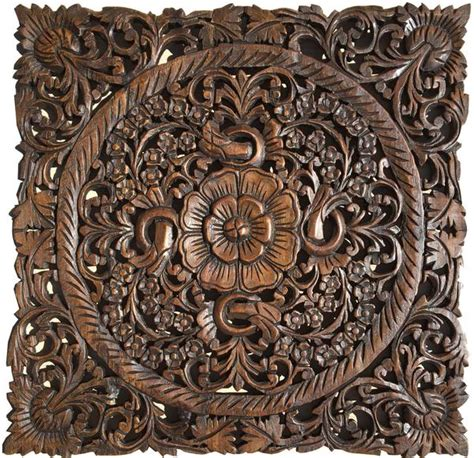 carved wood wall plaques wall sculptures asiana home decor
