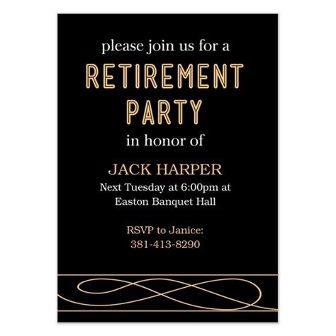 Retirement Party Invitations Cards On Pingg Com Retirement Email Template