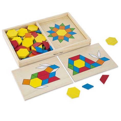 wood pattern blocks 250 pieces building blocks preschool wooden pattern blocks boards