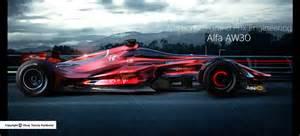 Alfa Romeo F1 Alfa Romeo Aw30 F1 Rendering Looks Future Proof