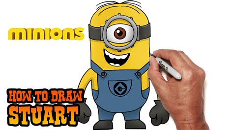 minion stuart how to draw stuart minions