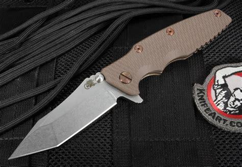 hinderer eklipse rick hinderer 3 5 quot eklipse brown tactical folding knife