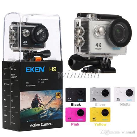 Eken H9 new package eken h9 4k wifi waterproof sport mini dv 1080p 60fps 170 degree