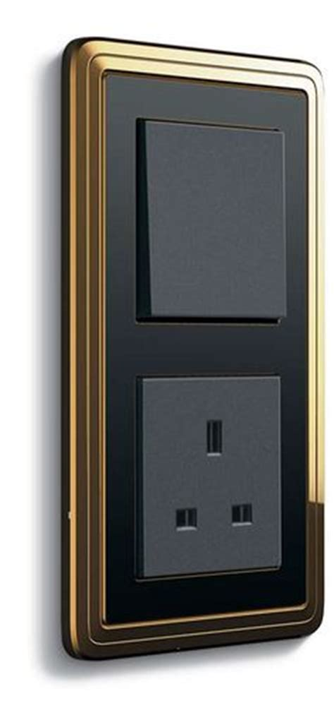 ls with outlets and usb www jung de ls 990 antracita iluminacion pinterest