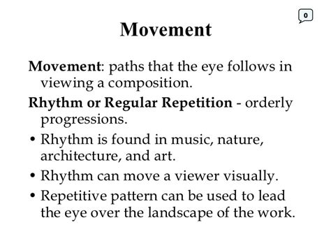 Design Definition Of Movement | principles of design