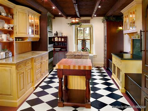 Mixed Kitchen Cabinets Photos Hgtv