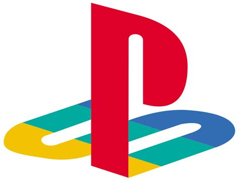 a logo with a blographic design what the playstation logo could been