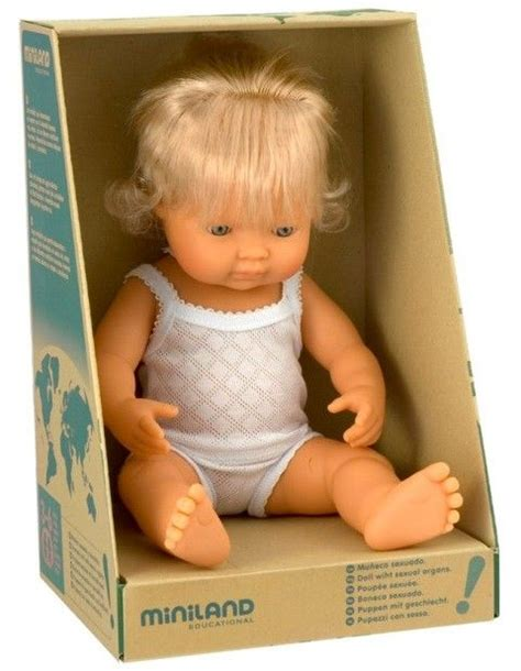 Miniland Caucasian Boy Baby Doll 25 best ideas about caucasian on real