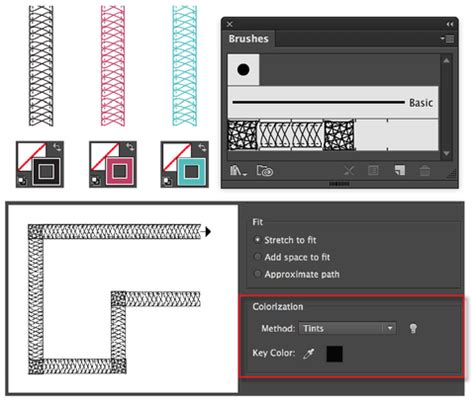 illustrator pattern brush change color illustrator brushes how to change colors on fashion