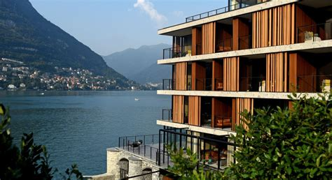 Lake Como Hotel Features Top Design, Spectacular Views